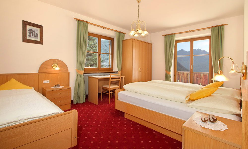 Your accommodation in Anterselva: friendly, comfortable and welcoming